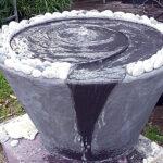 מפל מים לגינה בספירלה