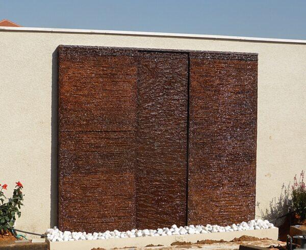 קיר מים 3 חלקים