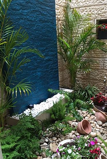 מפל מים לפאטיו מזרקה לגינה