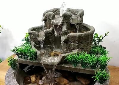 מזרקת מפל מים קטנה פנג שוואי