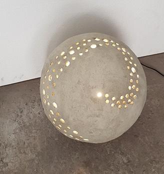 כדור בטון תאורה