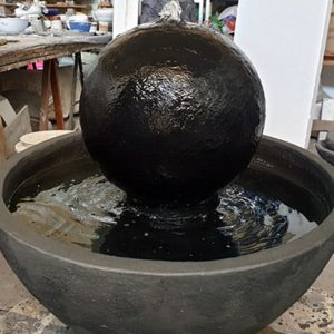 מזרקות כדור אבן