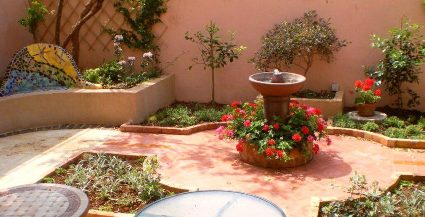 מרכיב רוחני למזרקות לגינה